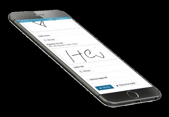 E-Signering i mobil